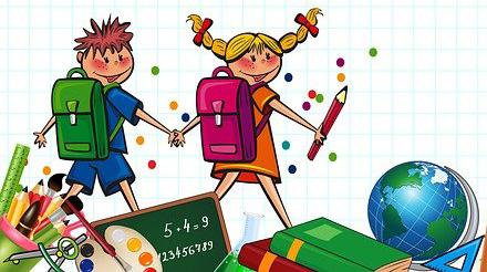 Hausaufgabenstunde für Grundschüler